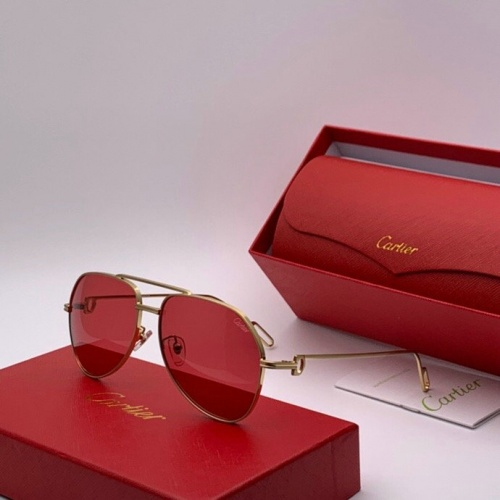 Cartier AAA Quality Sunglasses #777229