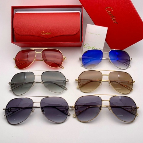 Replica Cartier AAA Quality Sunglasses #777229 $47.53 USD for Wholesale