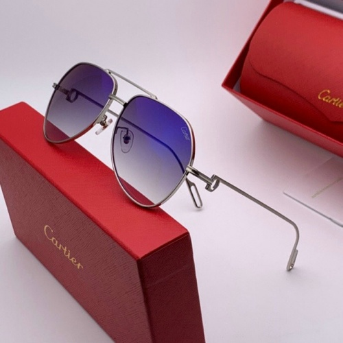 Cartier AAA Quality Sunglasses #777230