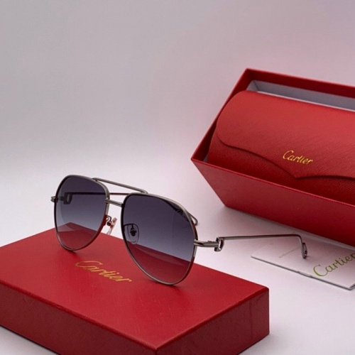 Cartier AAA Quality Sunglasses #777235