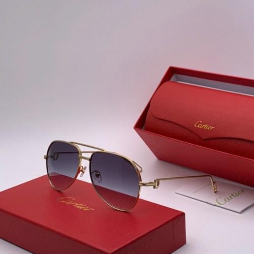 Cartier AAA Quality Sunglasses #777236