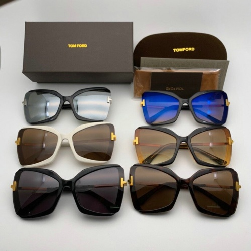 Replica Tom Ford AAA Quality Sunglasses #777581 $46.56 USD for Wholesale
