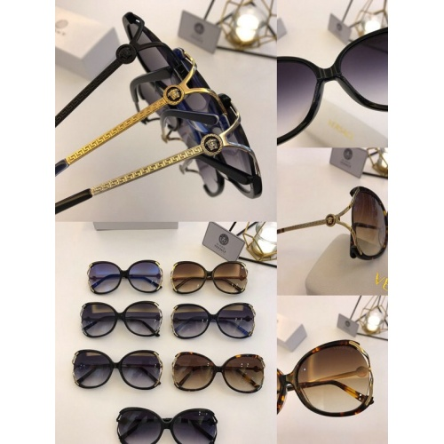 Replica Versace AAA Quality Sunglasses #777585 $46.56 USD for Wholesale