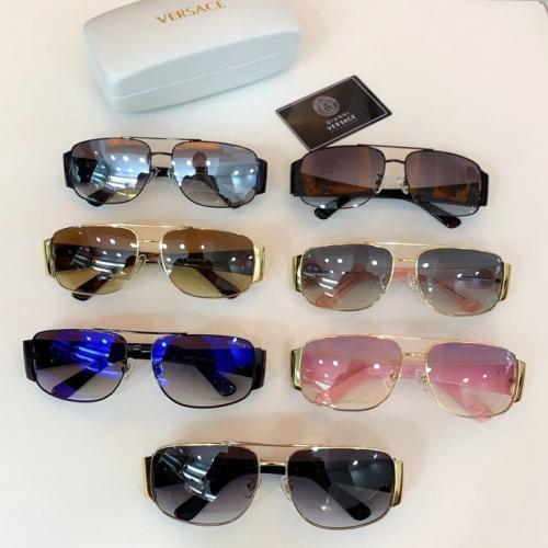 Replica Versace AAA Quality Sunglasses #777589 $46.56 USD for Wholesale