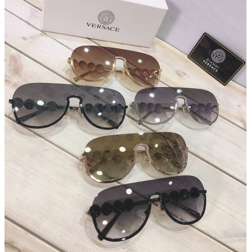 Replica Versace AAA Quality Sunglasses #777608 $46.56 USD for Wholesale