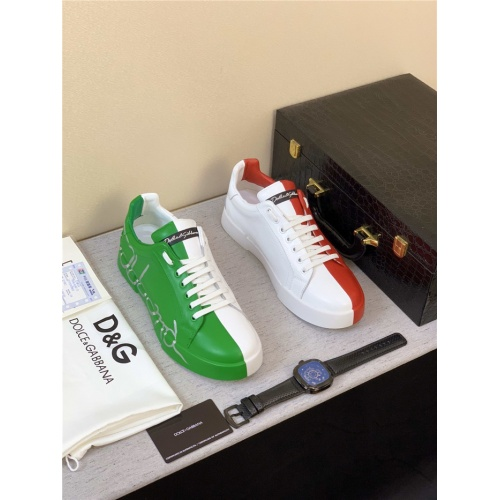 Dolce & Gabbana D&G Casual Shoes For Men #777706
