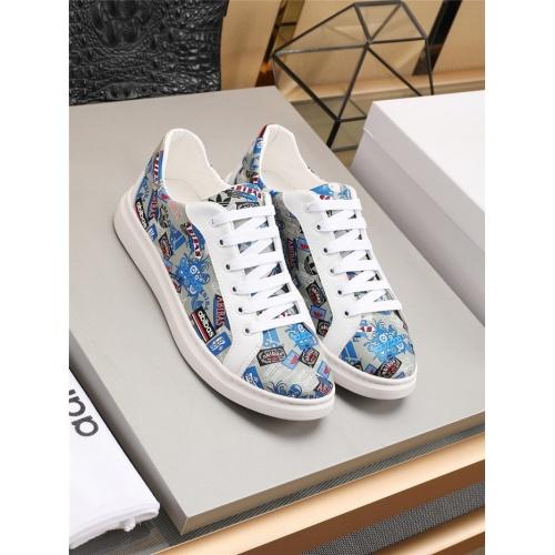 Versace Casual Shoes For Men #777801 $$82.45 USD, Wholesale Replica Versace Shoes