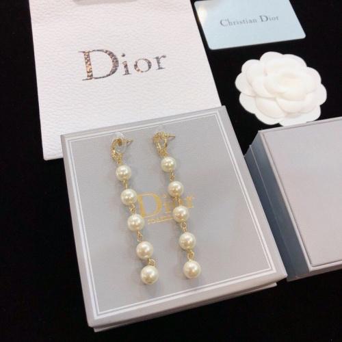 Christian Dior Earrings #777850 $26.19 USD, Wholesale Replica Christian Dior Earrings