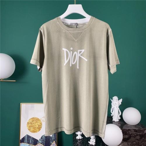 Christian Dior T-Shirts Short Sleeved O-Neck For Men #778088