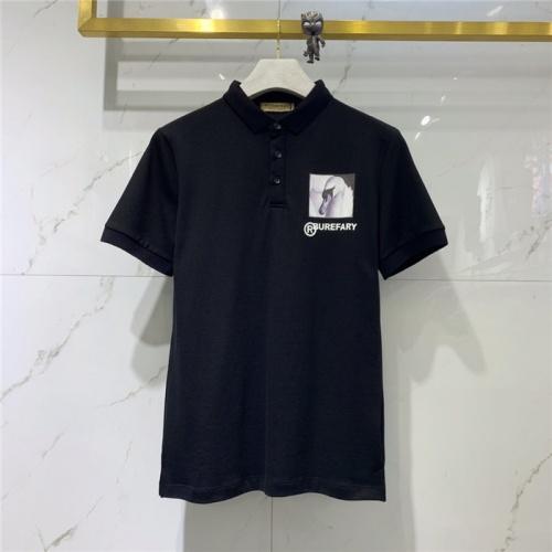 Burberry T-Shirts Short Sleeved Polo For Men #778150