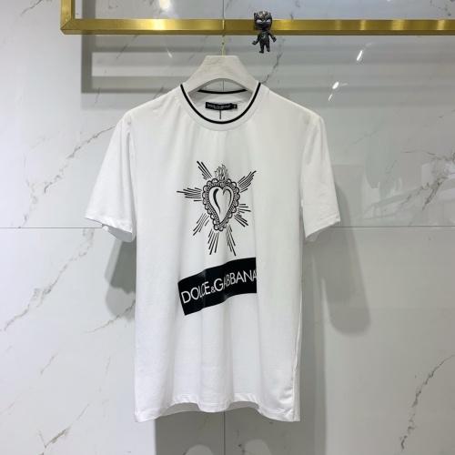 Dolce & Gabbana D&G T-Shirts Short Sleeved O-Neck For Men #778226 $39.77, Wholesale Replica Dolce & Gabbana D&G T-Shirts