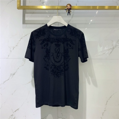 Dolce & Gabbana D&G T-Shirts Short Sleeved O-Neck For Men #778254