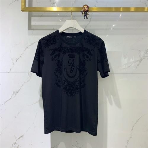 Dolce & Gabbana D&G T-Shirts Short Sleeved O-Neck For Men #778254