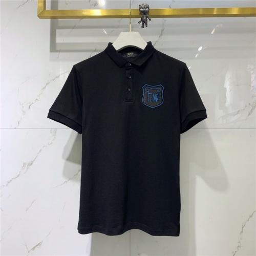 Fendi T-Shirts Short Sleeved Polo For Men #778279