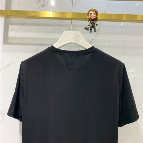 Replica Fendi T-Shirts Short Sleeved O-Neck For Men #778280 $39.77 USD for Wholesale