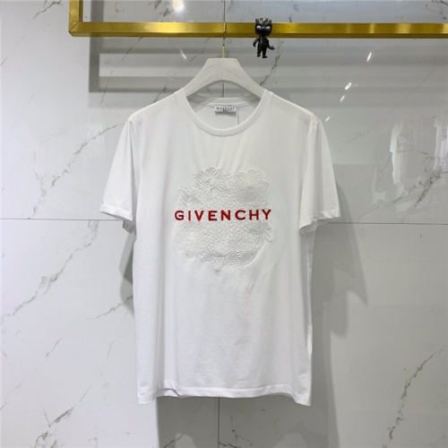 Givenchy T-Shirts Short Sleeved O-Neck For Men #778302 $40.74, Wholesale Replica Givenchy T-Shirts