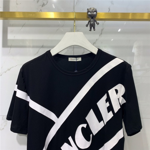 Replica Moncler T-Shirts Short Sleeved Polo For Men #778313 $40.74 USD for Wholesale