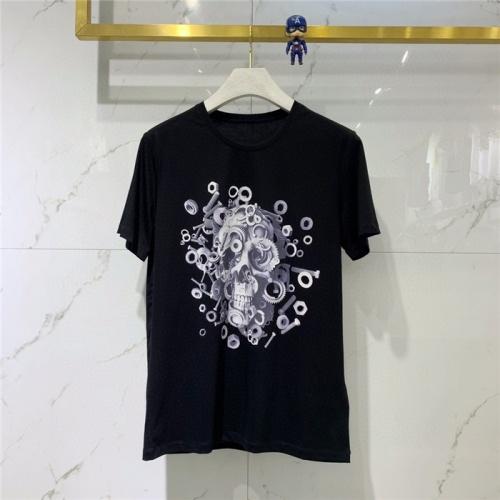 Alexander McQueen T-shirts Short Sleeved O-Neck For Men #778317 $39.77 USD, Wholesale Replica Alexander McQueen T-shirts