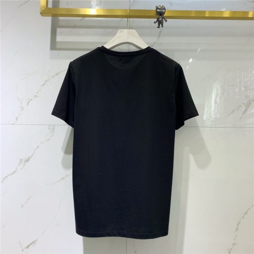 Replica Alexander McQueen T-shirts Short Sleeved O-Neck For Men #778317 $39.77 USD for Wholesale