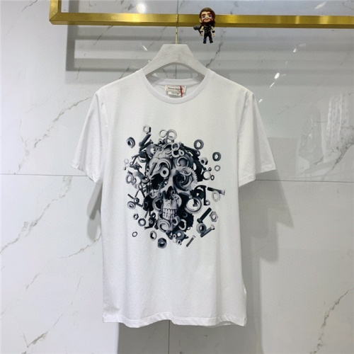 Alexander McQueen T-shirts Short Sleeved O-Neck For Men #778318 $39.77 USD, Wholesale Replica Alexander McQueen T-shirts