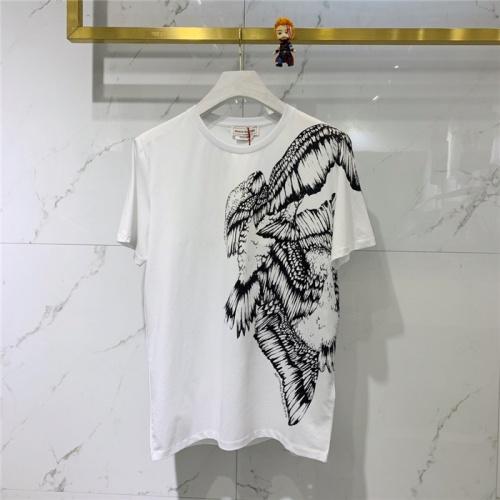Alexander McQueen T-shirts Short Sleeved O-Neck For Men #778319 $39.77 USD, Wholesale Replica Alexander McQueen T-shirts