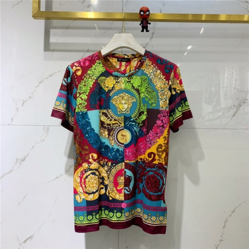 Versace T-Shirts Short Sleeved O-Neck For Men #778483