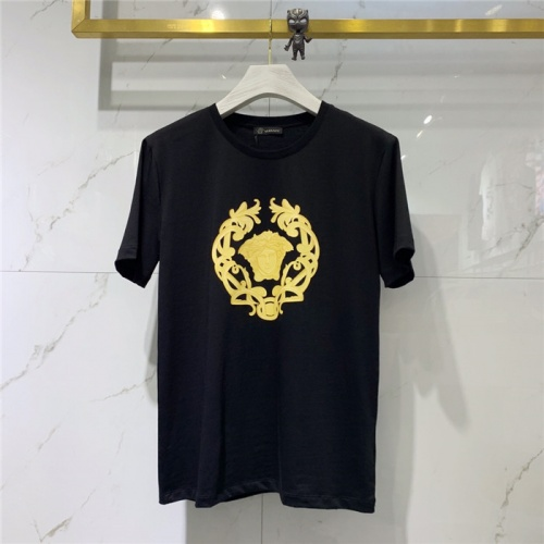 Versace T-Shirts Short Sleeved O-Neck For Men #778491 $39.77 USD, Wholesale Replica Versace T-Shirts