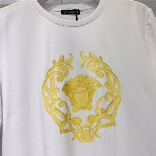 Replica Versace T-Shirts Short Sleeved O-Neck For Men #778492 $39.77 USD for Wholesale