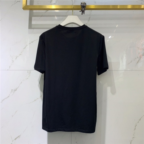 Replica Alexander McQueen T-shirts Short Sleeved O-Neck For Men #778561 $39.77 USD for Wholesale