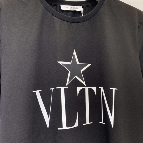Replica Valentino T-Shirts Short Sleeved O-Neck For Men #778571 $39.77 USD for Wholesale