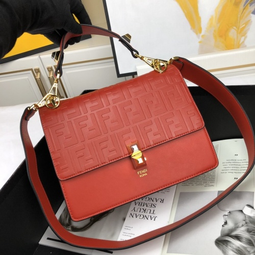 Fendi AAA Quality Shoulder Bags For Women #778725