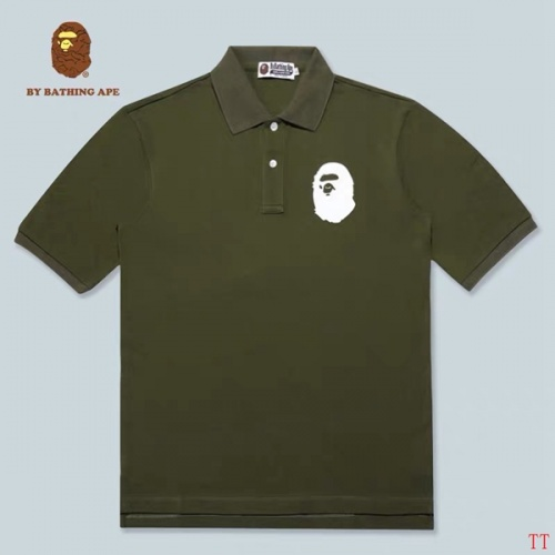 Bape T-Shirts Short Sleeved Polo For Men #778770
