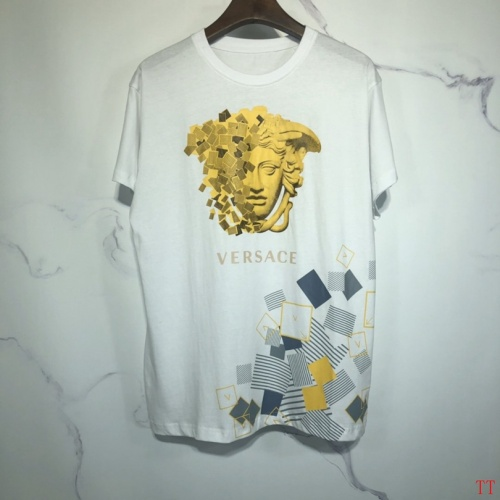 Versace T-Shirts Short Sleeved O-Neck For Men #778848 $26.19 USD, Wholesale Replica Versace T-Shirts