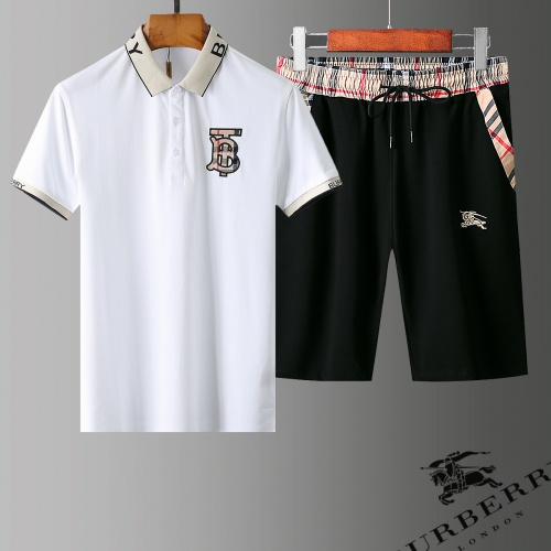 Burberry Tracksuits Short Sleeved Polo For Men #778870