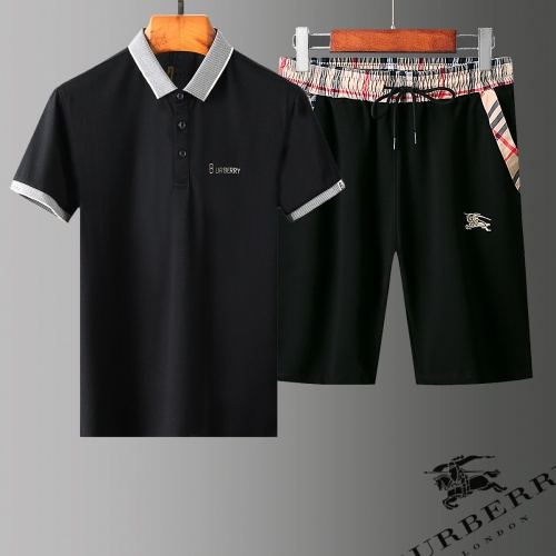 Burberry Tracksuits Short Sleeved Polo For Men #779005