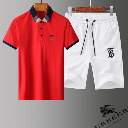 Burberry Tracksuits Short Sleeved Polo For Men #779007