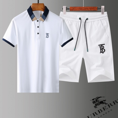 Burberry Tracksuits Short Sleeved Polo For Men #779012