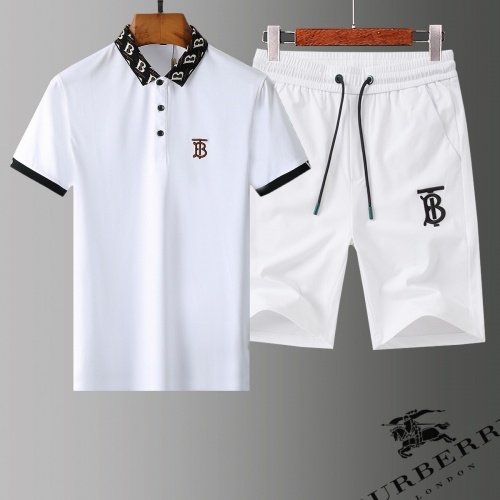 Burberry Tracksuits Short Sleeved Polo For Men #779014