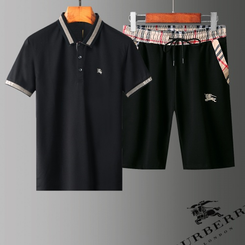 Burberry Tracksuits Short Sleeved Polo For Men #779022