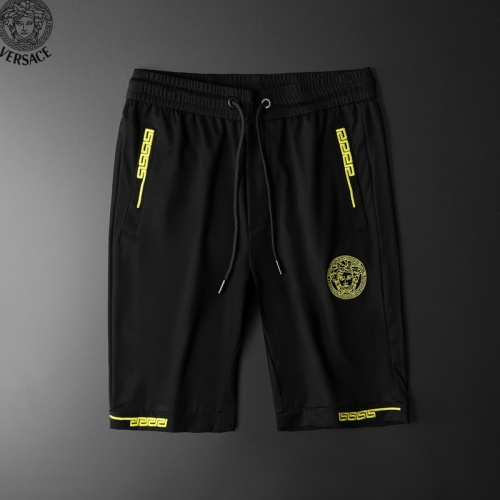 Replica Versace Tracksuits Short Sleeved Polo For Men #779031 $58.20 USD for Wholesale
