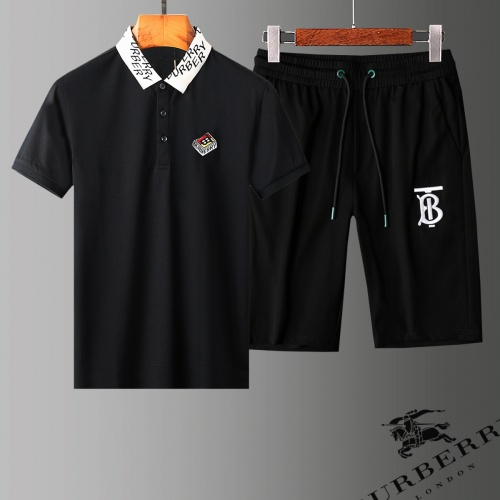 Burberry Tracksuits Short Sleeved Polo For Men #779051