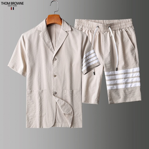 Thom Browne TB Tracksuits Short Sleeved Polo For Men #779114