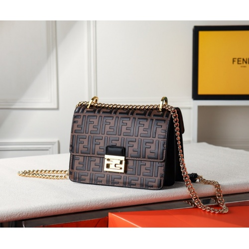 Fendi AAA Quality Messenger Bags For Women #779251