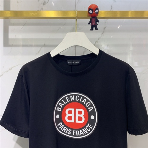 Replica Balenciaga T-Shirts Short Sleeved O-Neck For Men #779434 $39.77 USD for Wholesale