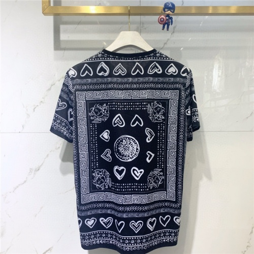 Replica Versace T-Shirts Short Sleeved O-Neck For Men #779465 $39.77 USD for Wholesale