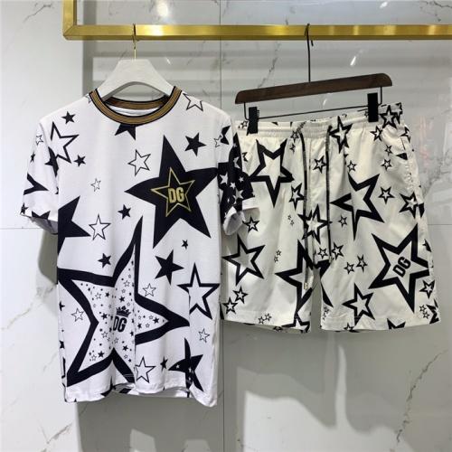 Dolce & Gabbana D&G Tracksuits Short Sleeved O-Neck For Men #779510