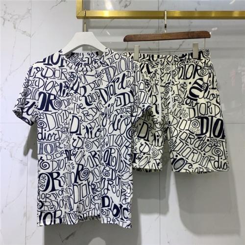 Christian Dior Tracksuits Short Sleeved O-Neck For Men #779520