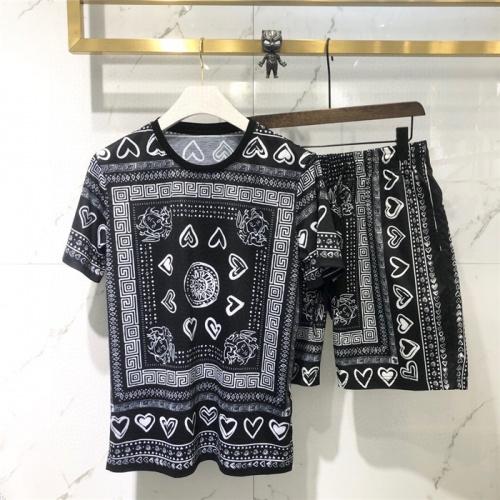 Versace Tracksuits Short Sleeved O-Neck For Men #779525