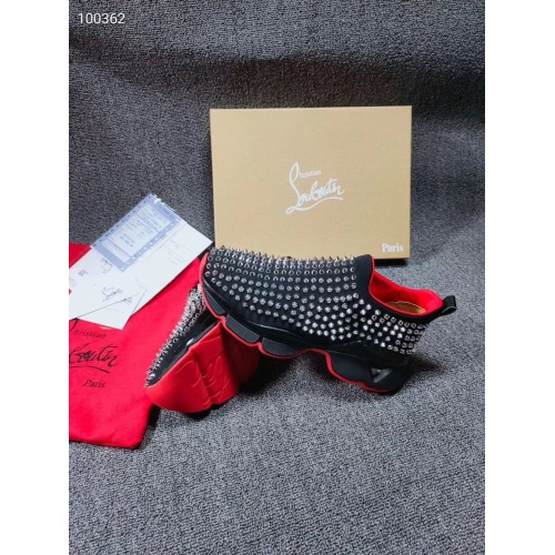 Replica Christian Louboutin CL Casual Shoes For Men #779584 $97.00 USD for Wholesale