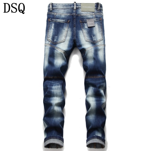 Replica Dsquared Jeans Trousers For Men #779611 $46.56 USD for Wholesale